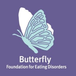 the Butterfly Foundation for eating disorders logo