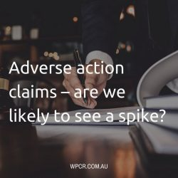 Adverse action claims – are we likely to see a spike